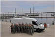 SWAT Team Group Photo Outside of a Van