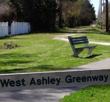 West Ashley Greenway Path