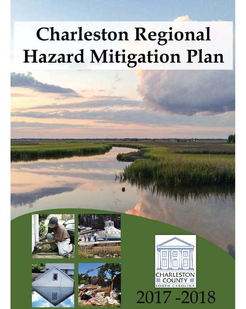 Charleston Regional Hazard Mitigation Plan Cover