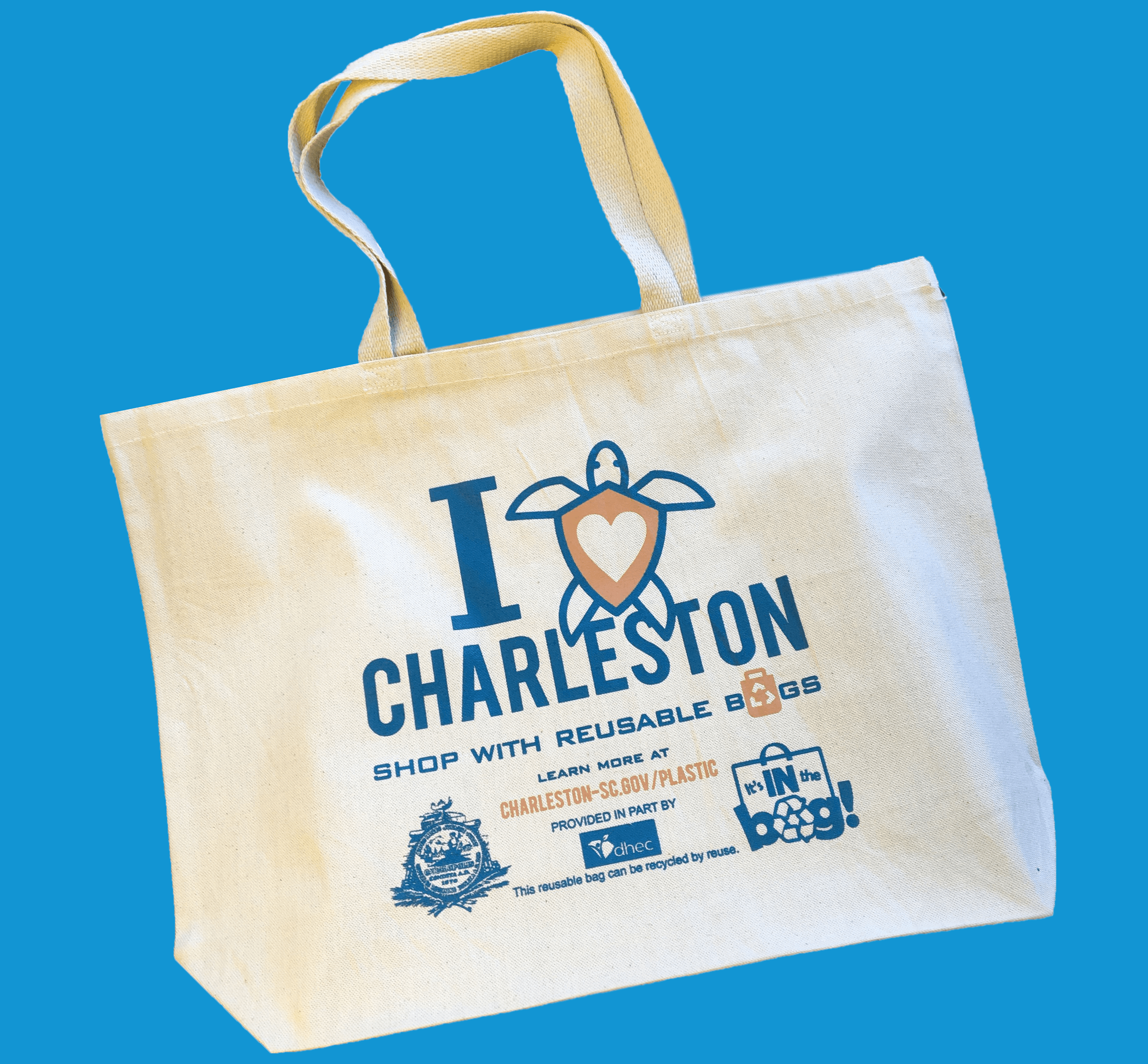 City of Charleston Reusable Bag