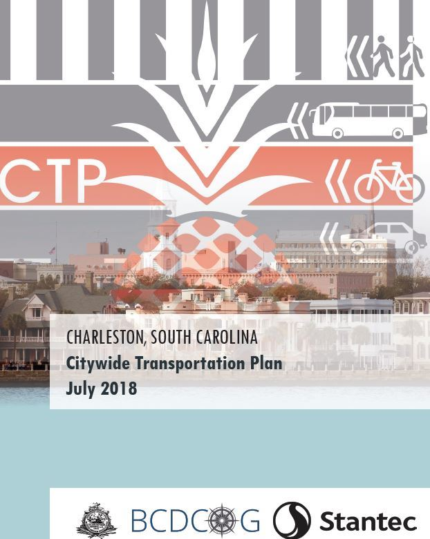 City Transportation Plan Cover Page Opens in new window