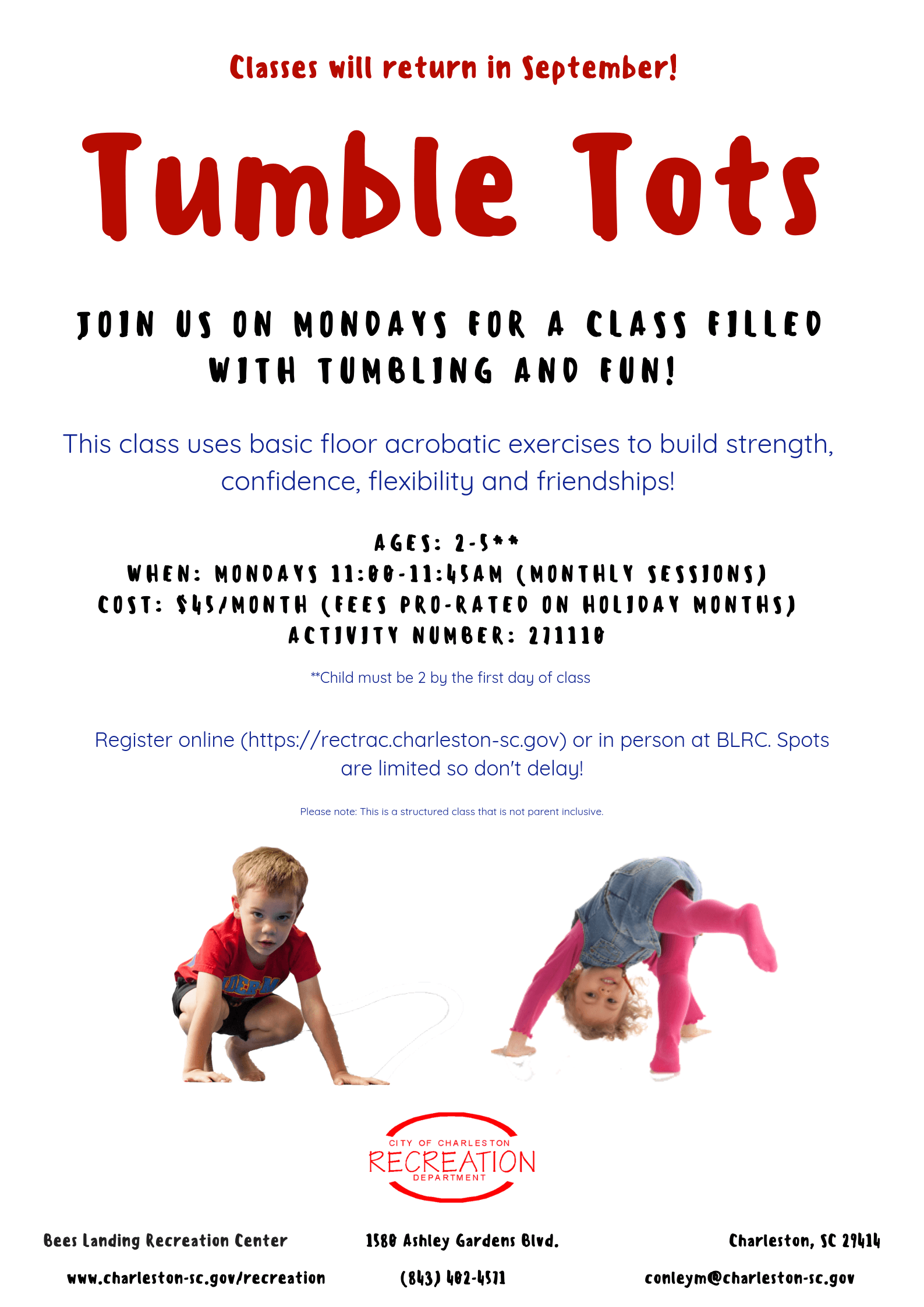 Tumble Tots  Opens in new window