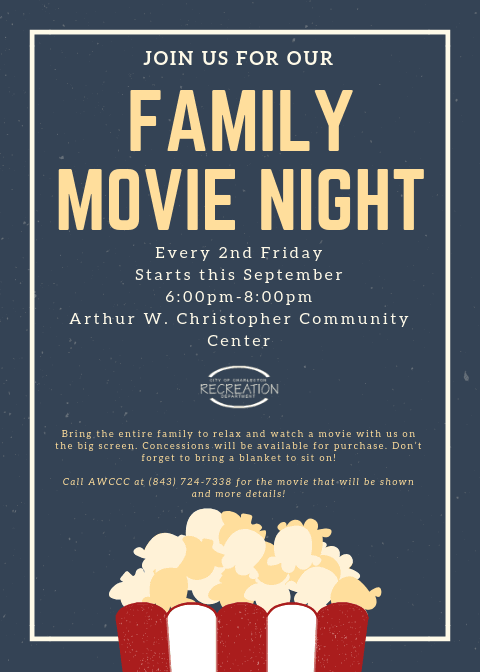 AWCCC Family Movie Night (September fridays)