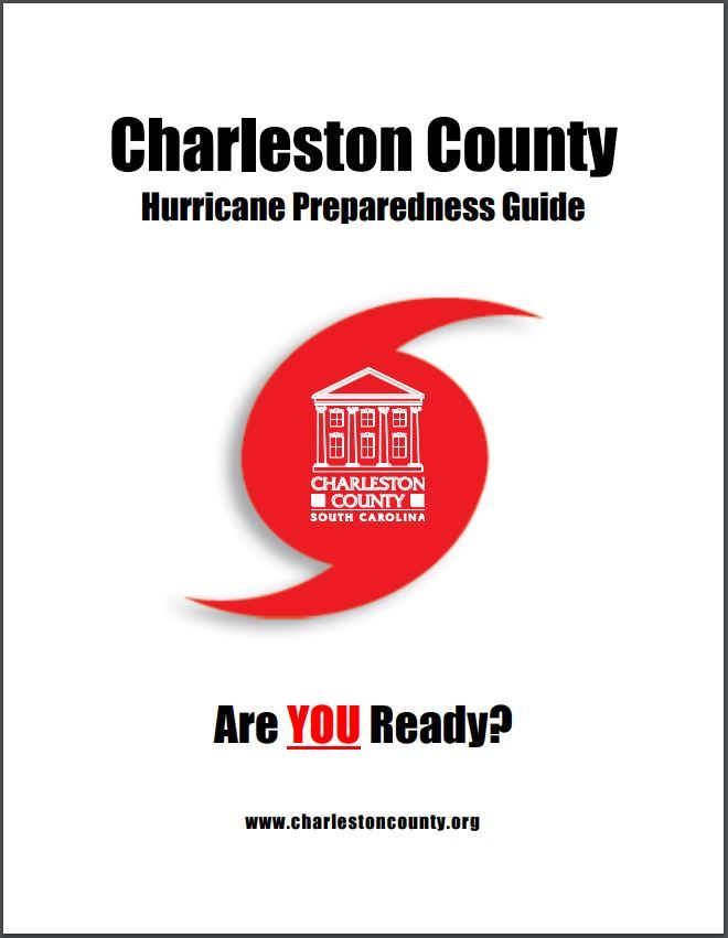 Charleston County hurricane guide cover