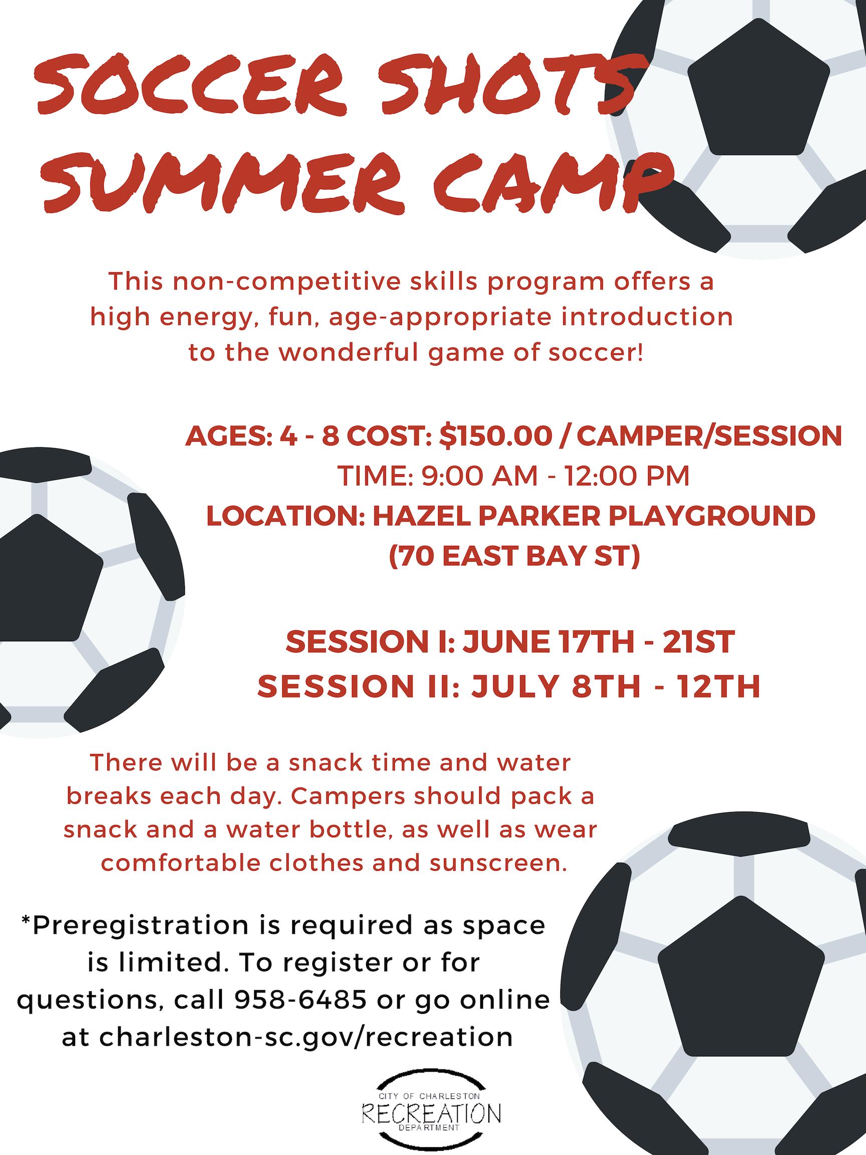 Soccer Shots Camp 1
