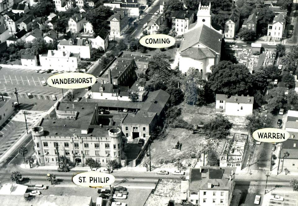 1965 Police Station Aerial View