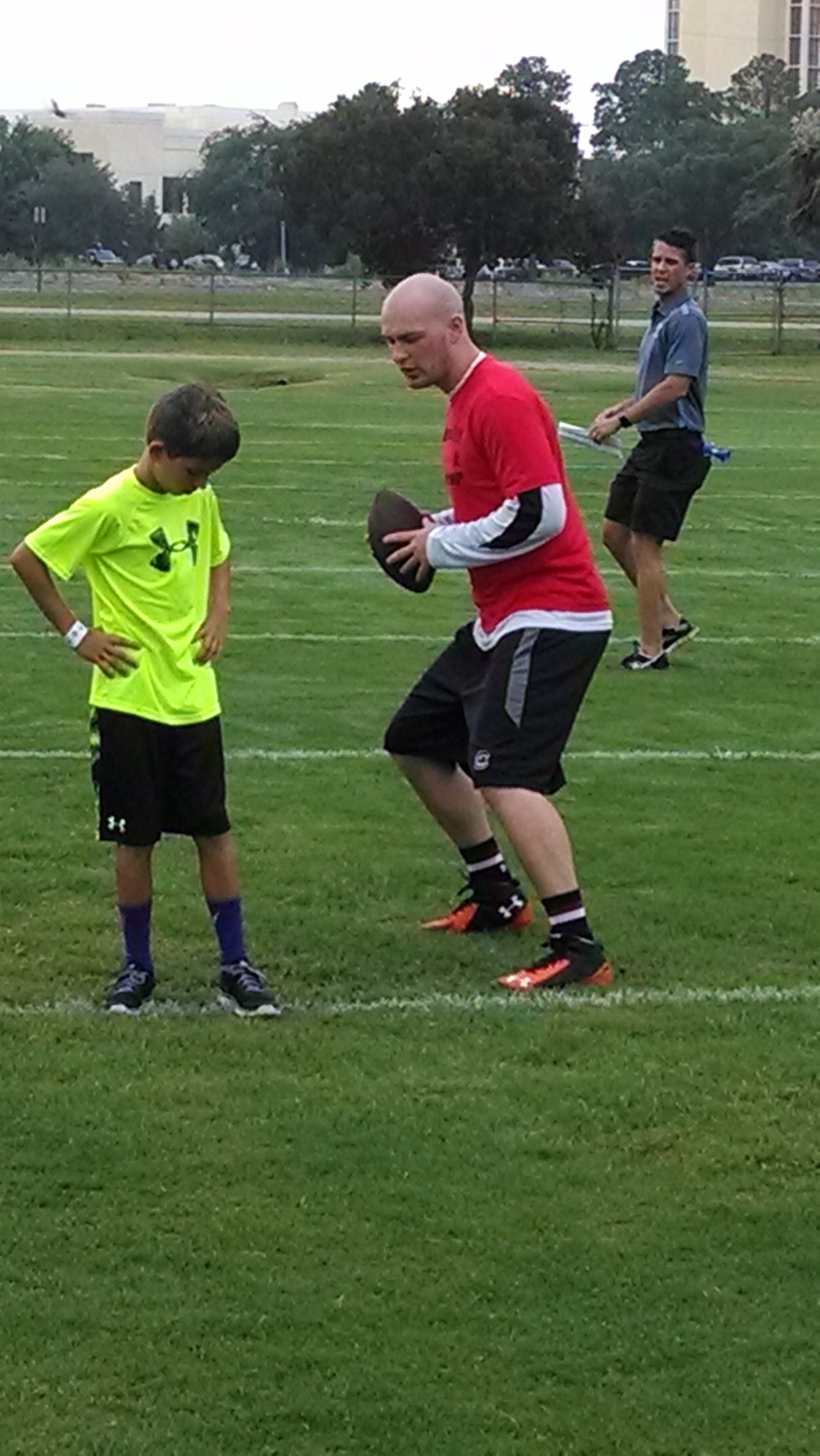 Connor Shaw Football Camp (1)