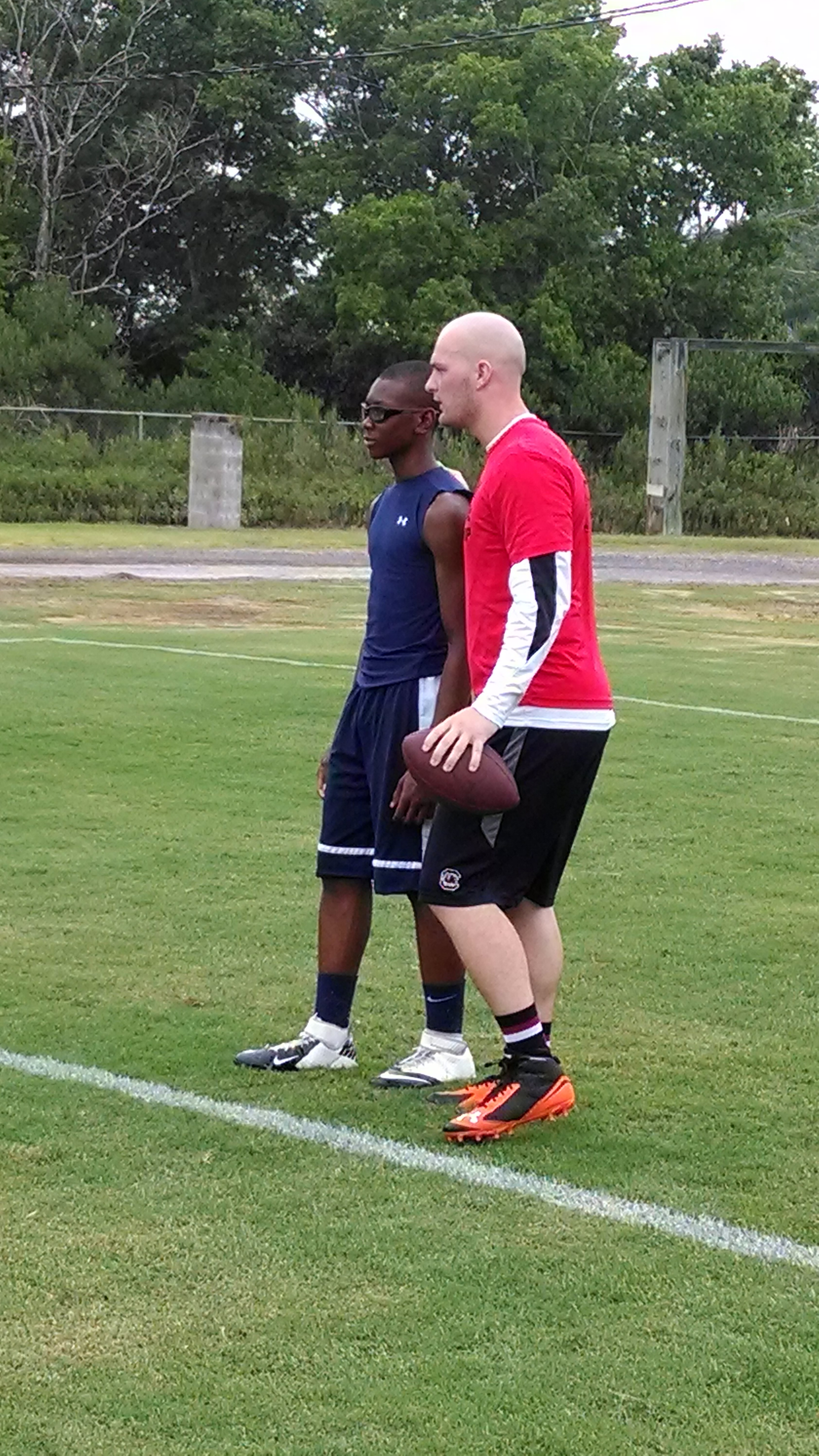 Connor Shaw Football Camp (3)