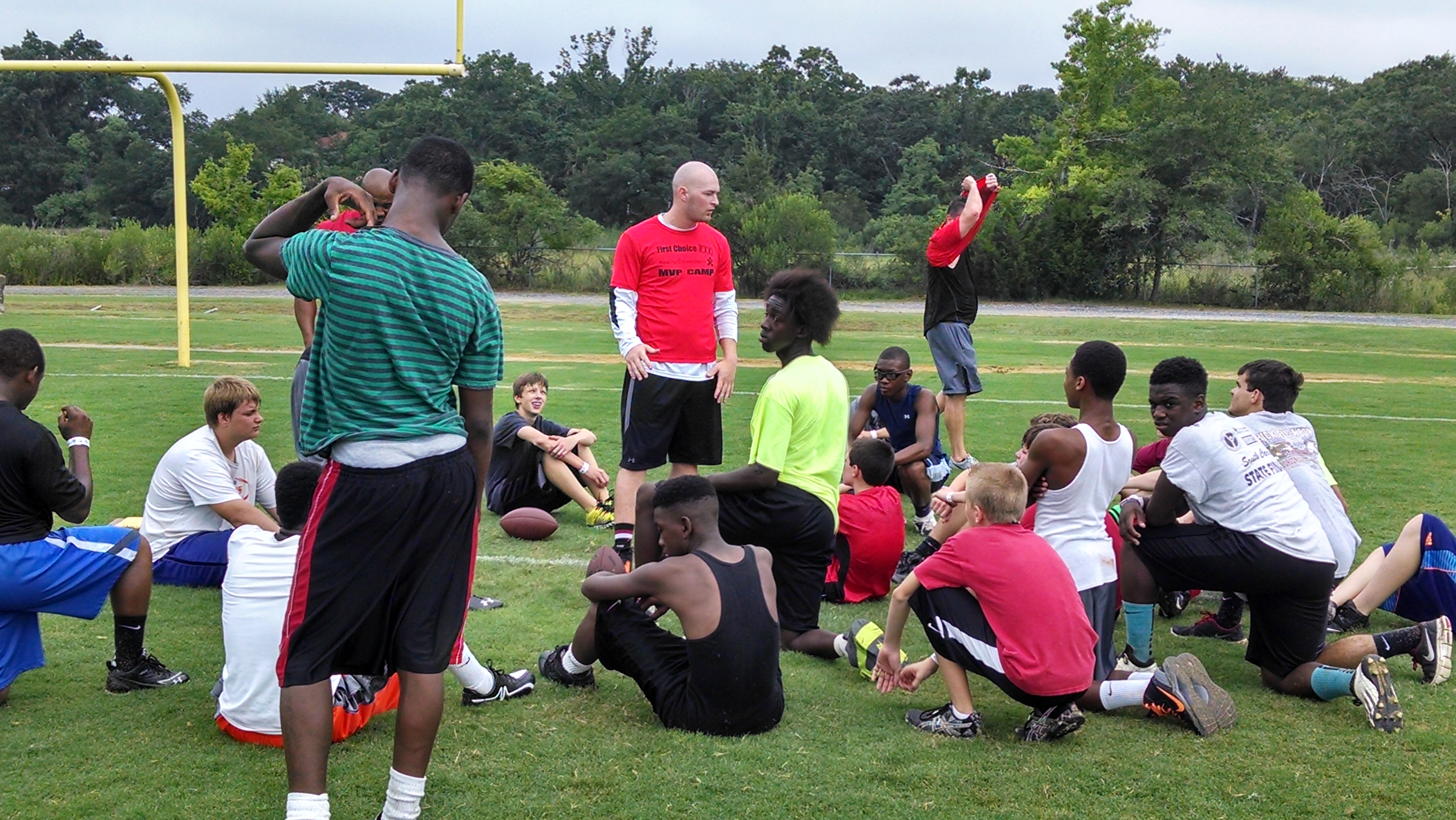 Connor Shaw Football Camp (4)