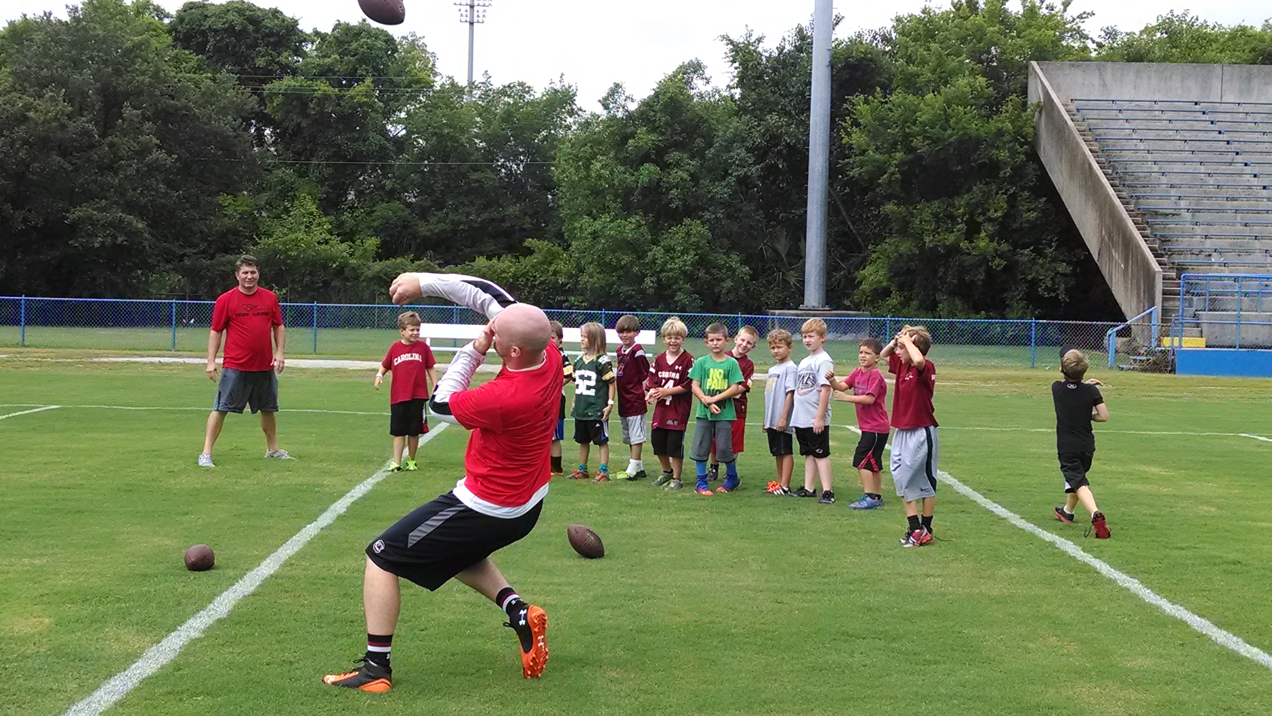 Connor Shaw Football Camp (6)