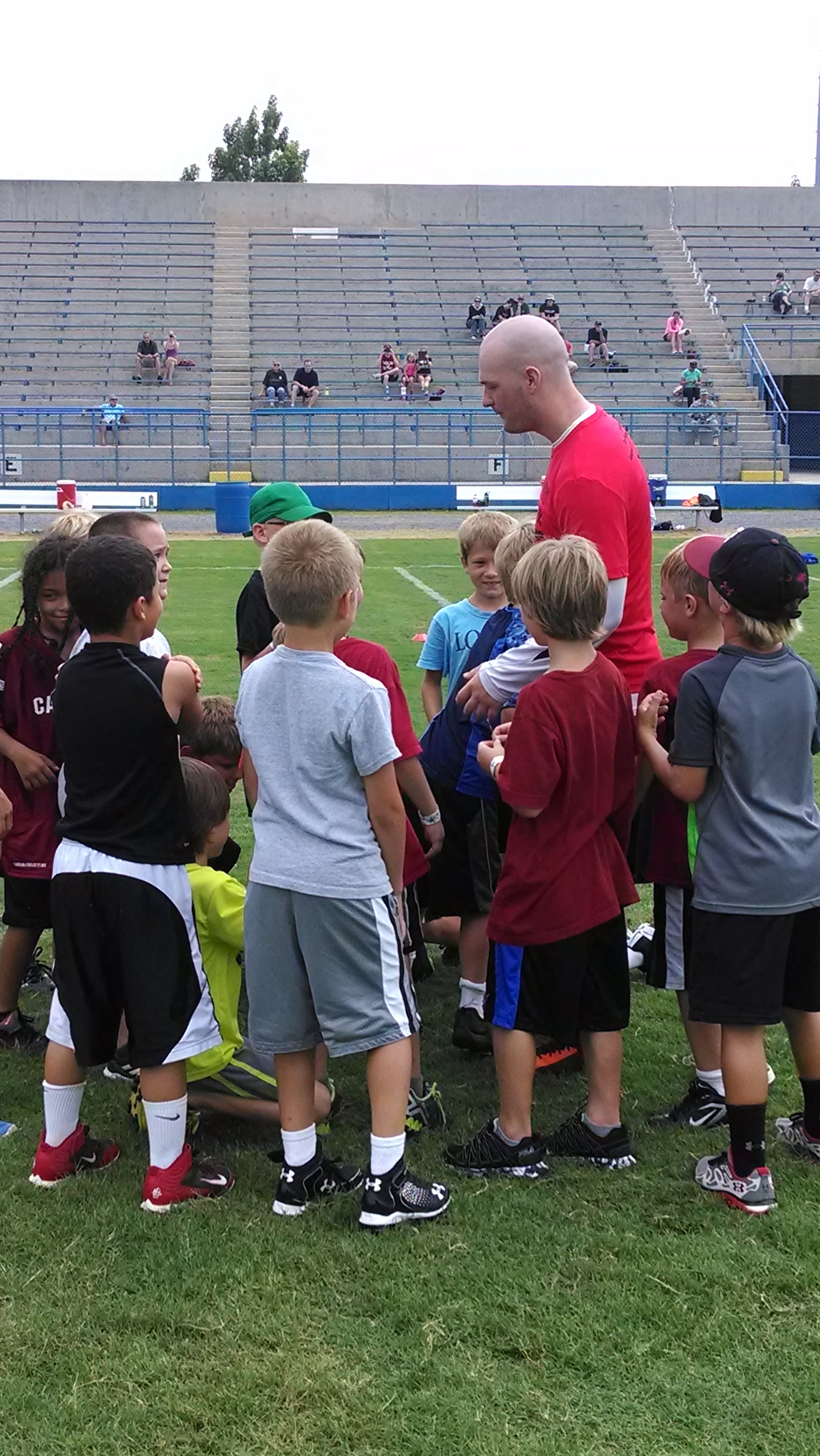 Connor Shaw Football Camp (7)