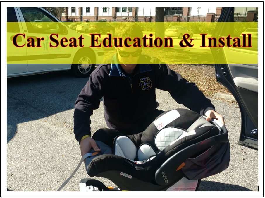 Car Seat Education and installation