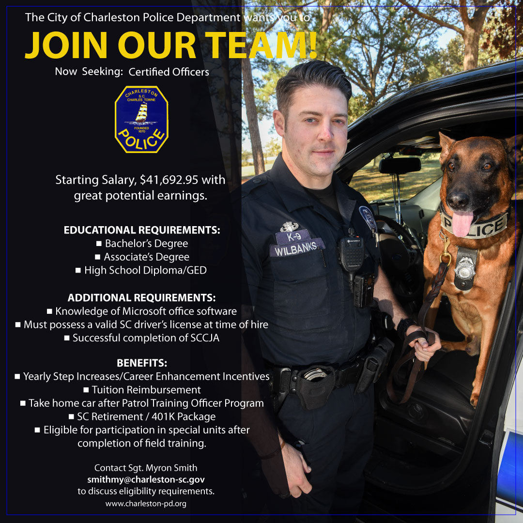 Charleston Sc Official Website Police Department